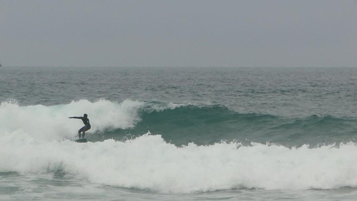 Praia Mole surf break
