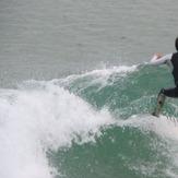 Cogiendo el rebote de la ola, El Sardinero - Primera