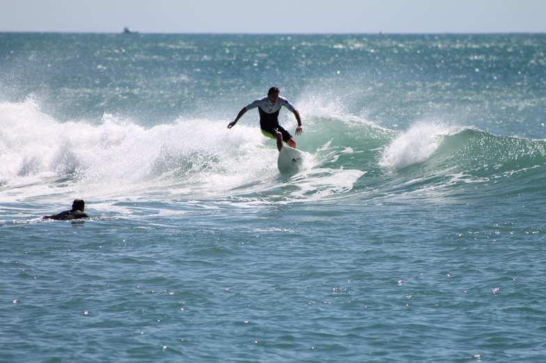 Whakatane Heads surf break