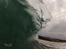 Decent barrel, Clifton Beach photo