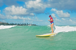 SUP'in at Castles, Castles Beach photo