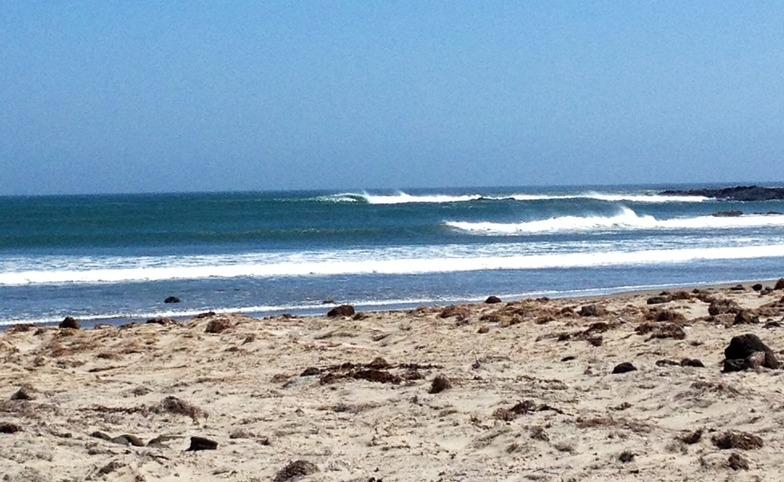 Cabo San Quintin surf break