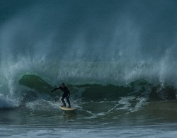 Easter Waves, Newgale photo