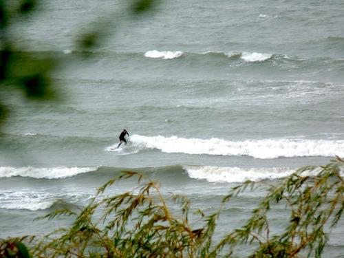 Golden Bay novelty surf, Para Para Rivermouth