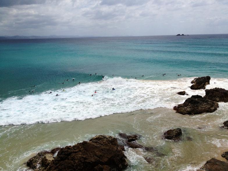 The Pass surf break