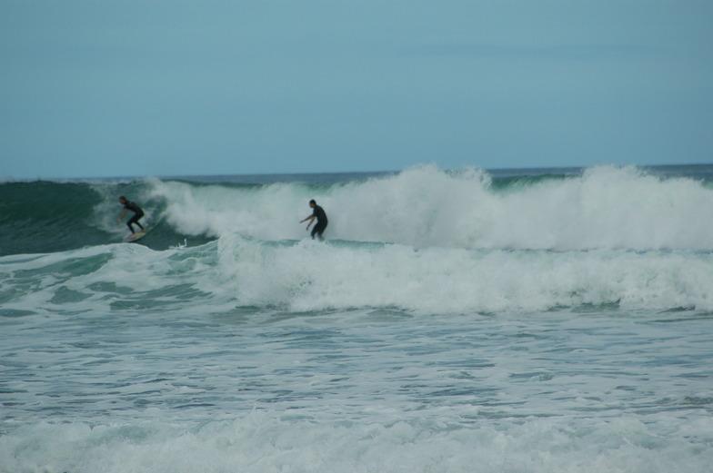 Karekare surf break