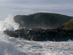 Charleston giant waves photo