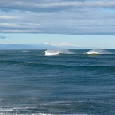 Offshore Autumn swell, Blaketown Wedge