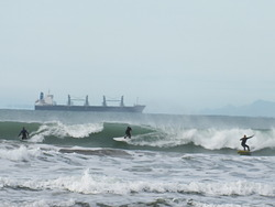 Early morning action, Midway Beach - Surf Club photo