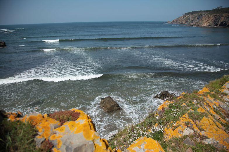 Hidden sand bank, Playa de Cueva