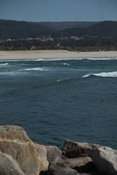 waves and wind, Vila Praia de Ancora photo