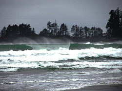 Winter, Long Beach (Tofino Airport) photo