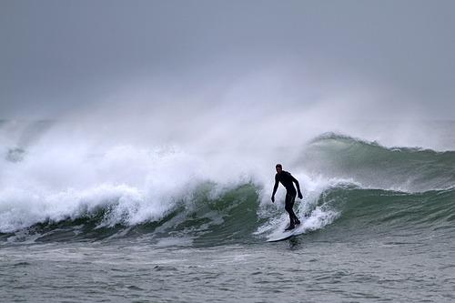 Hayling surfer, Hayling Island