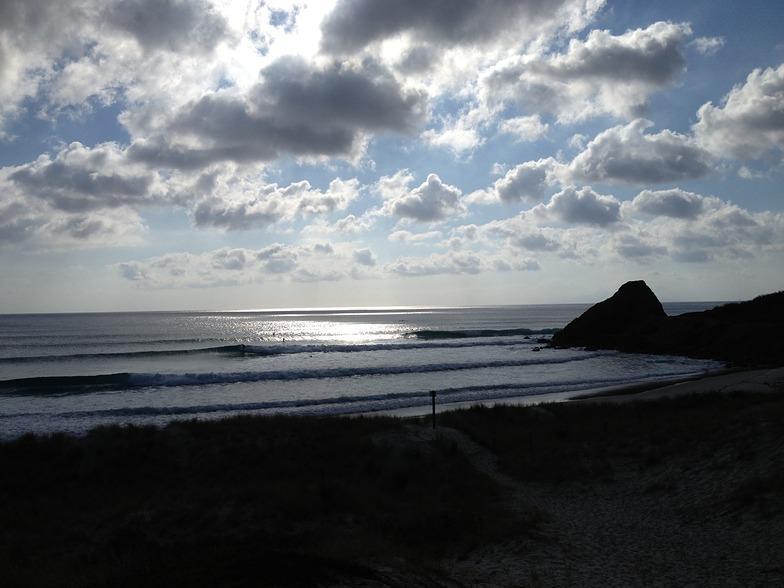 Te Arai Point surf break