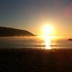 early morning mist, Maenporth
