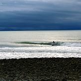 Winter surf at The Glen