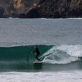 Clean glassy surf at Matauri, Matauri Bay