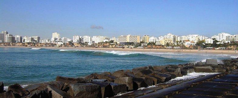 Praia da Rocha break guide