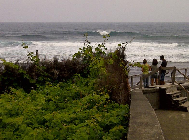 Faja da Areia surf break