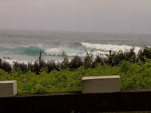 san vicente waves right, Faja da Areia