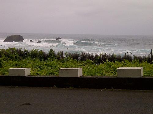 san vicente waves left, Faja da Areia