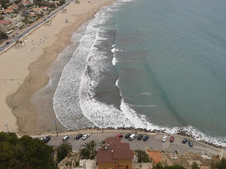 Derecha de la Cala surf break
