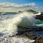 Crashing Wave, Godrevy