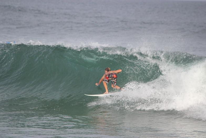To Strand surf break