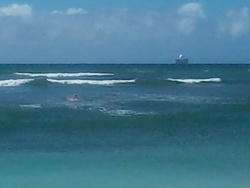 Paddling Out, Ewa Beach Park photo