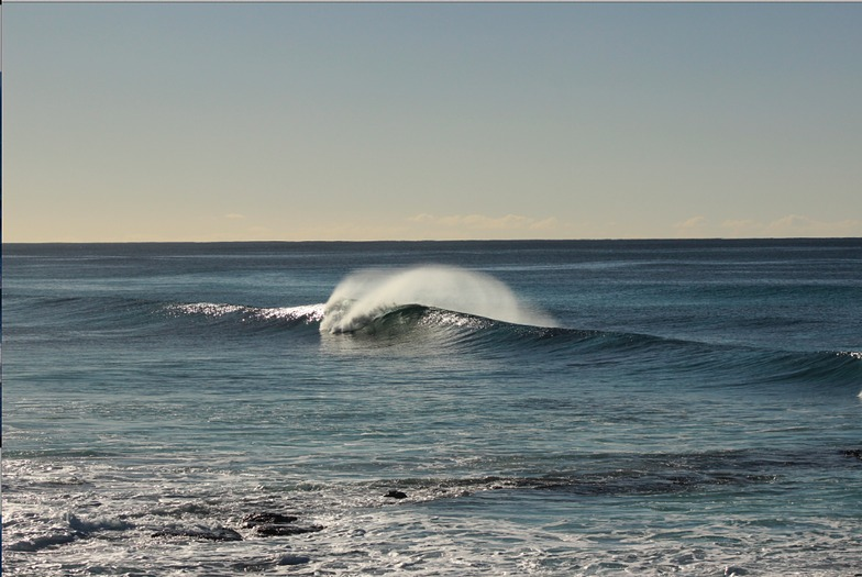 Friendly Beaches surf break