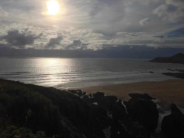 Coombesgate Beach surf break