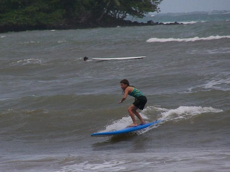 Kahana Bay break guide