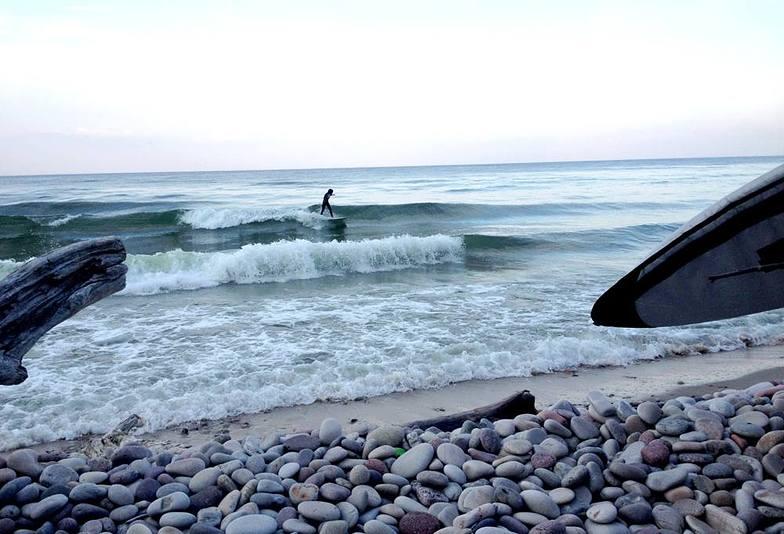 Vik surf break
