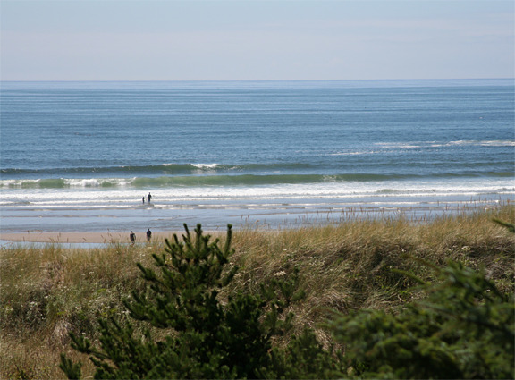 Cannon Beach surf break