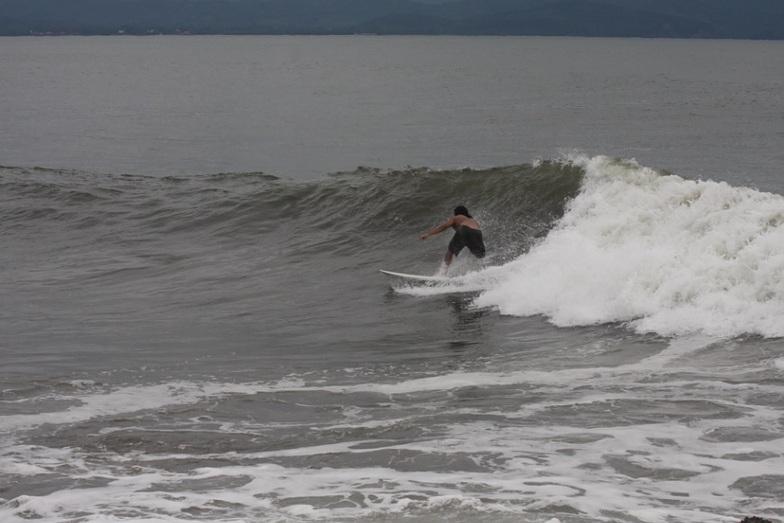 Good waves that day!, Las Islitas (Matanchen Bay)