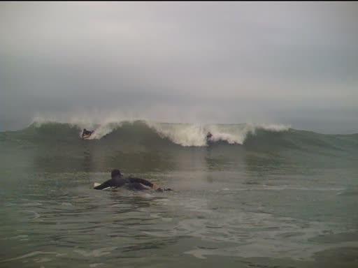 Three Peaks surf break
