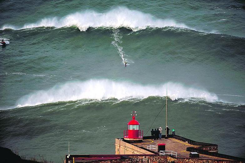 Praia do Norte break guide