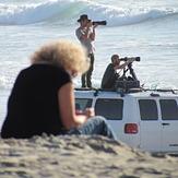photogs at the beach, Pacific City/Cape Kiwanda
