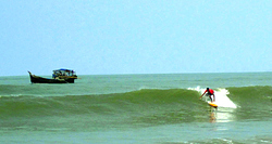 Surfing Cox's Bazar  photo