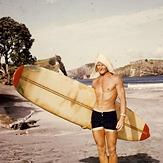 Mike Gardner - Surf Legend from Way back..., Medlands Beach