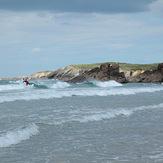 Incoming tide fun, Playa de Penarronda
