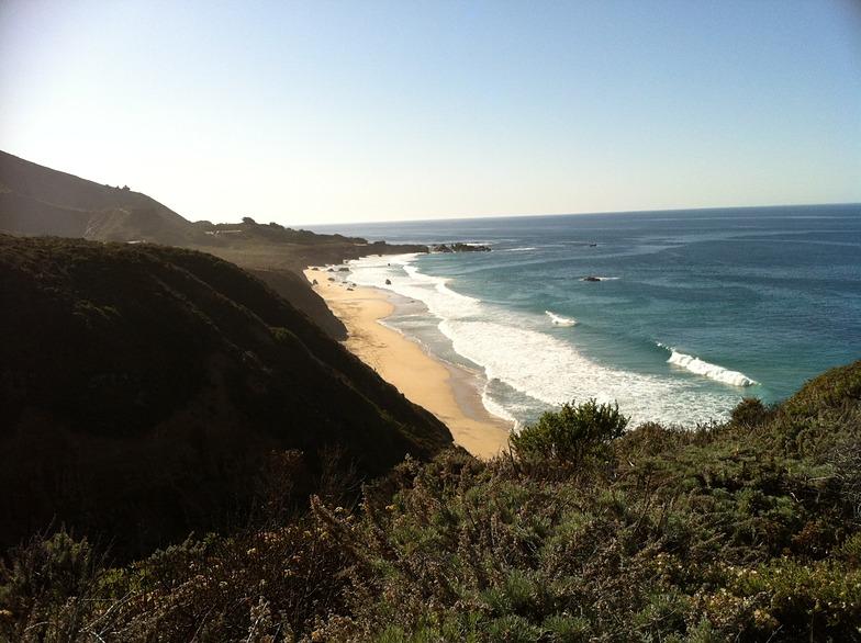 Local beach trial, Garrapata