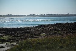 Pors Carn waves photo