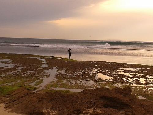 Heaving, Portsea Back Beach