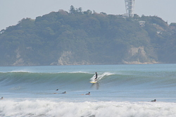Typhoon Swell, Tsujido Beach photo