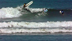Warming Up for World Longboard Championship 2013, Punta Huanchaco photo