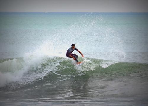 Another wave at Tsujido, Tsujido Beach