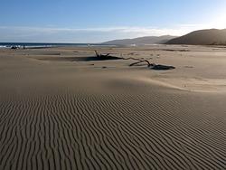 Vast expanse of sand at Herbertville photo