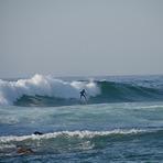 After the the big drop, Praia do Bordeira