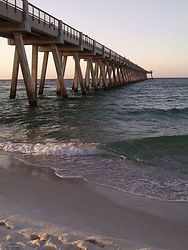 navarre beach pier photo